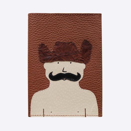 Обложка для паспорта Ковбой