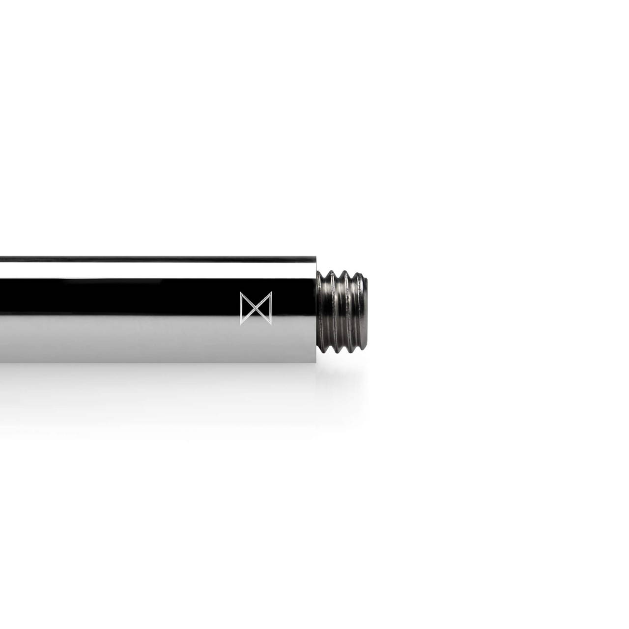 Polished Aluminium Travel Pen Monogram end detail