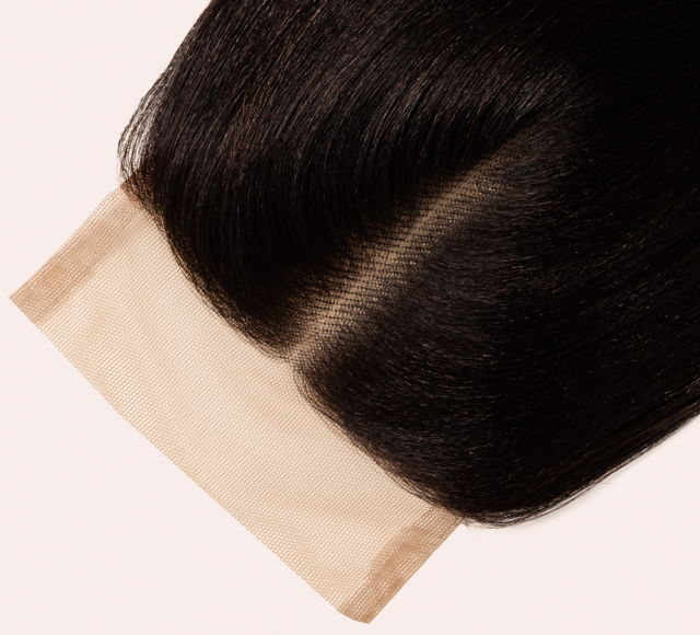 Yaki Straight Natural Black Closures Mayvenn