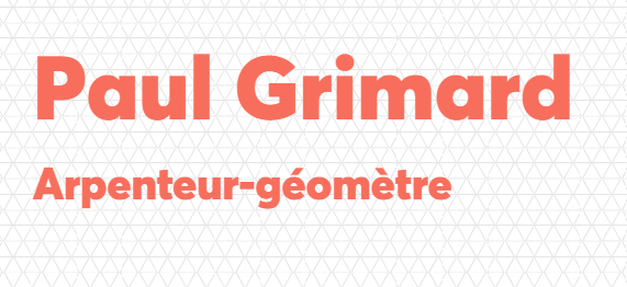 Paul Grimard Arpenteur - géomètre ( St-Apollinaire)