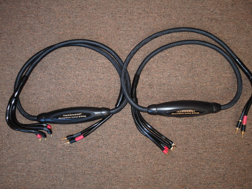 Transparent MWSBW8 MM1 Technology Speaker Cables