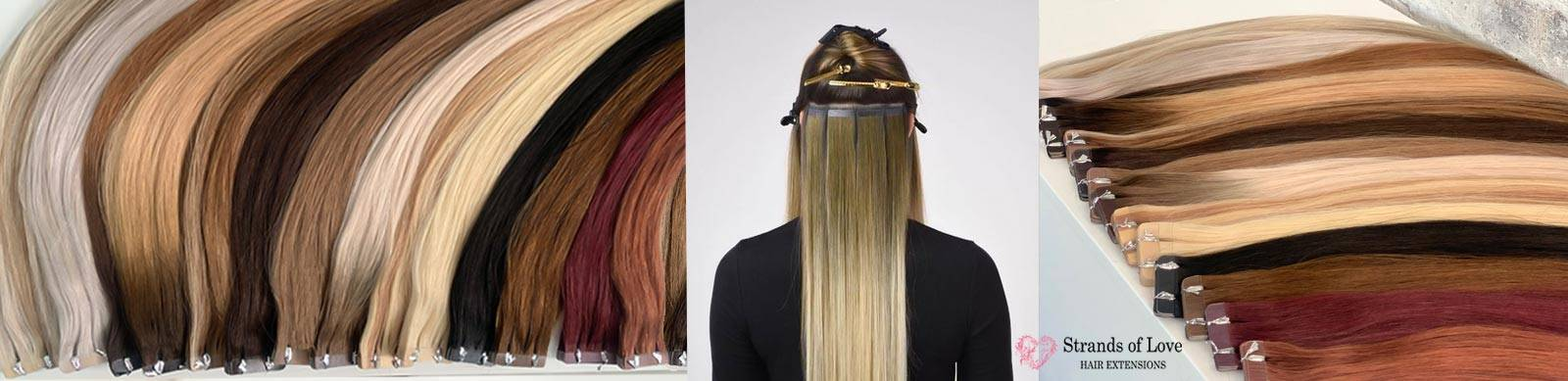 Strands of Love Hair Extension Tape In Image