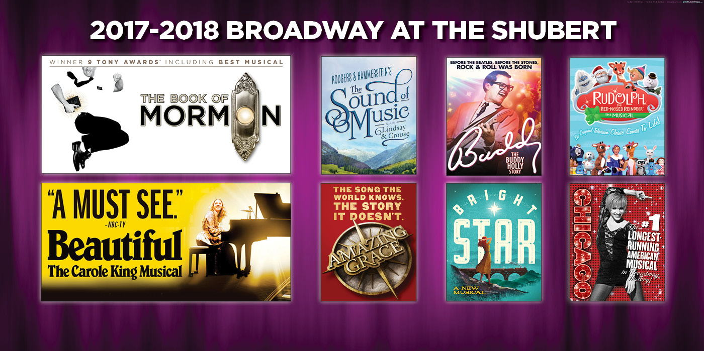 ANNOUNCING THE 2017-2018 BROADWAY SERIES!