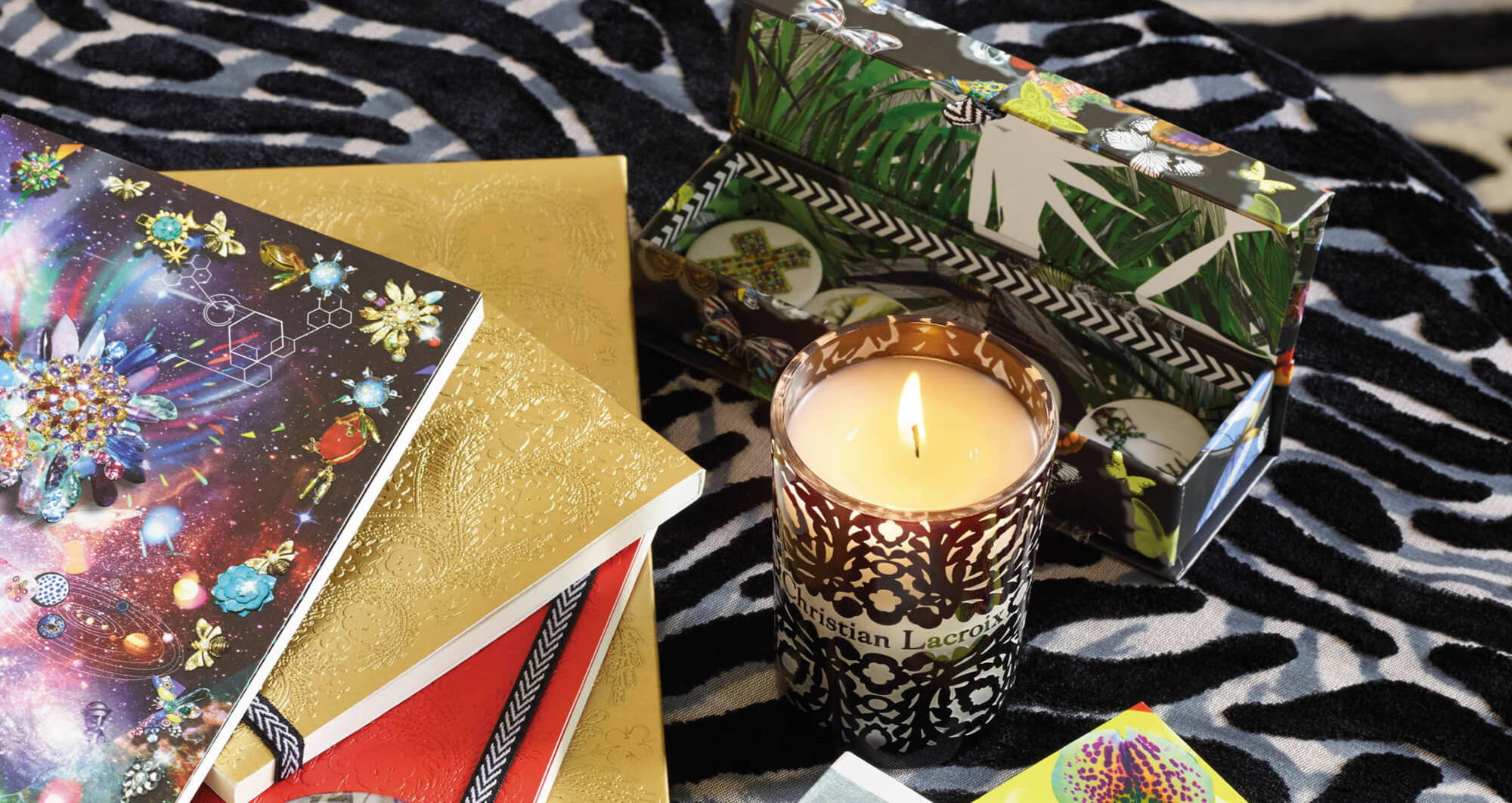christian lacroix scented candle limited edition capsule collaboration couture fashion best interior design accessory