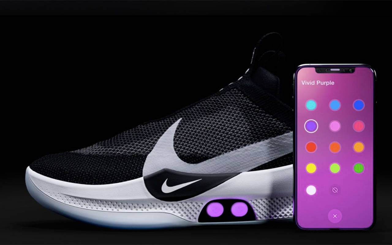 new product 17e63 001f4 NIKE ADAPT BB SELF-LACING. Welcome to the future of footwear. Step into a  shoe that comes to life when you put it on. It lights up.