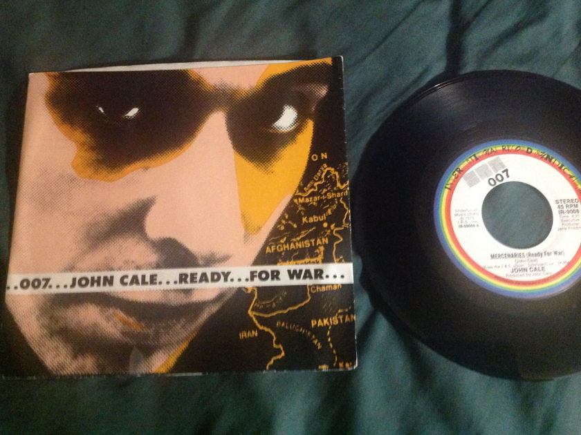 John Cale(Velvet Underground) - Ready For War 45 With Sleeve