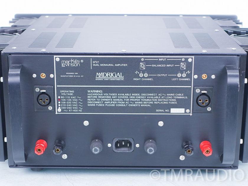 Mark Levinson No. 27 Dual-Mono Power Amplifier (7549)