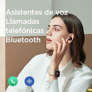 Amazfit GTS 2 - Libera tus manos. Llamadas Bluetooth, asistentes de voz en línea y fuera de línea.