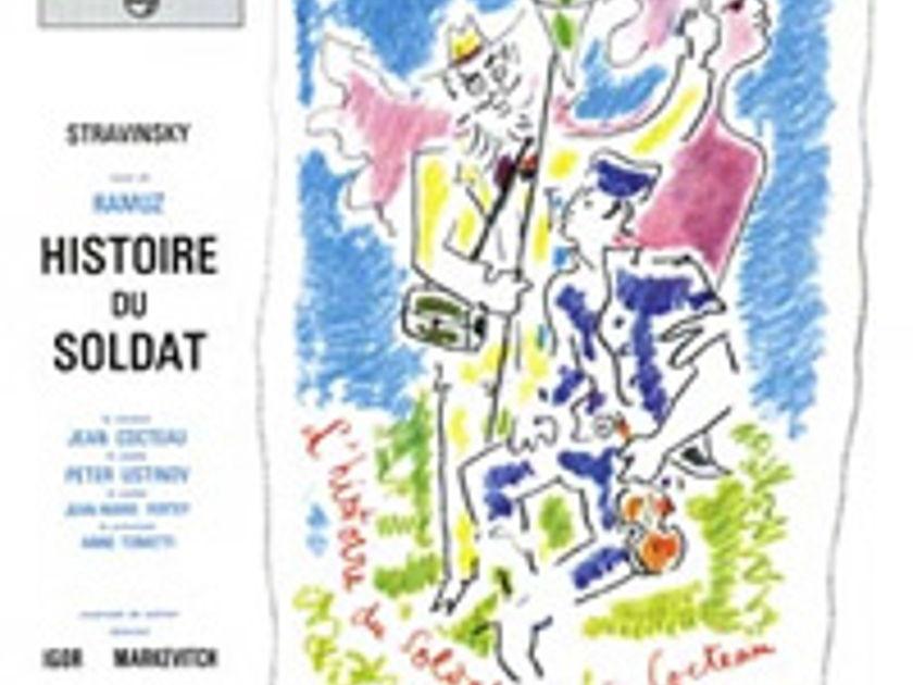 Stravinsky Histoire Du Soldat - Speakers Corner Philips 180g LP