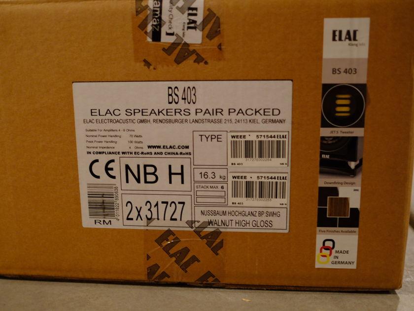 Elac BS-403 Bookshelf Speakers