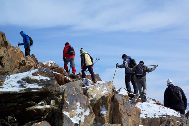 5days Climbing Mount Kenya Sirimoni- Chogoria Route