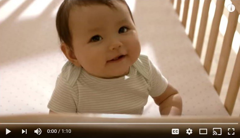 Preview image of a video featuring a little infant