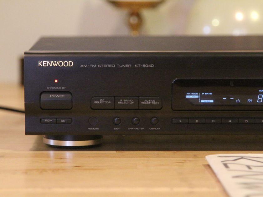 Kenwood KT-6040 sleeper DX tuner