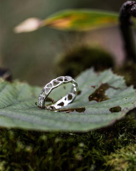 """Серебряное кольцо """"Скела"""""""