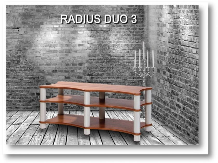 Solid Tech Radius Duo 3 A/V Rack - Excellent Condition; 40% Off; Free Shipping