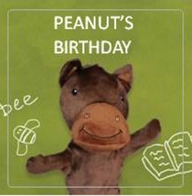 Monday March 15th is Peanut the Pony's Birthday-Wear Brown in his Honor!