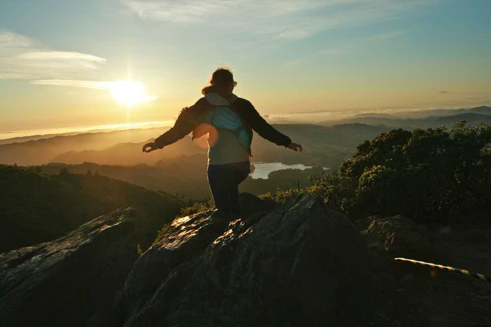 Hike to Mount Tam's East Peak for Sunset