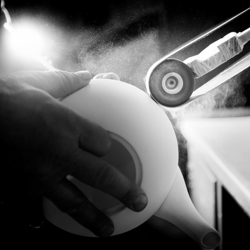 Hudson's bespoke teapot manufacturing process