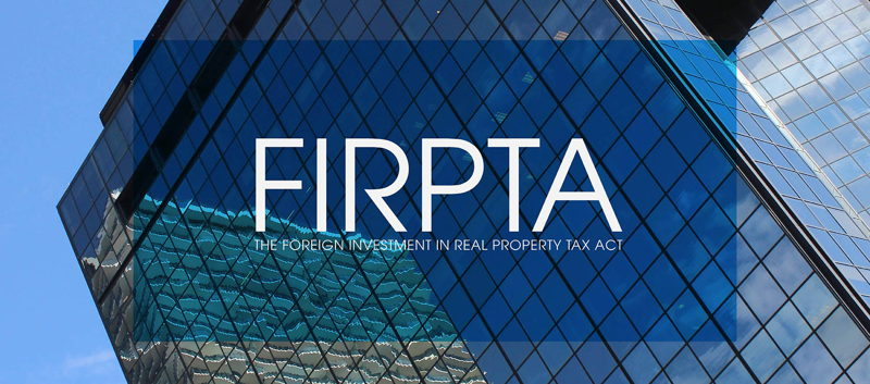 featured image for story, IMPUESTO SOBRE INVERSION EXTRANJERA EN BIENES Y RAICES... (FIRPTA) !
