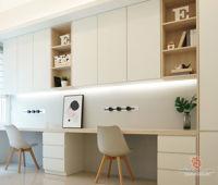 paperwork-interior-minimalistic-modern-scandinavian-malaysia-penang-study-room-3d-drawing