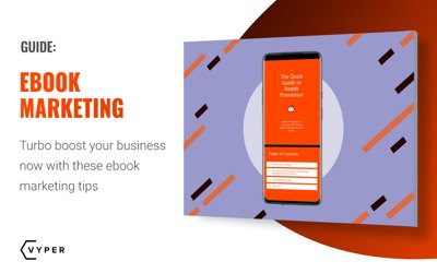 How to Turbo Boost Your Business with Ebook Marketing