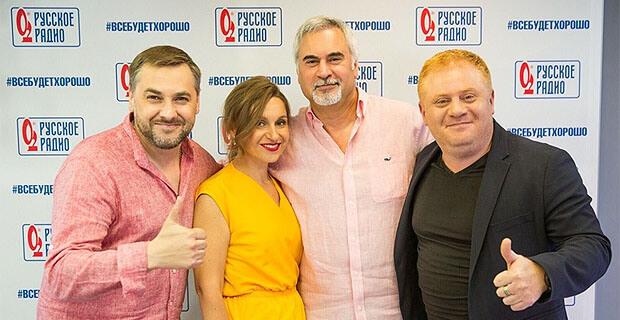 Валерий Меладзе в гостях у «Русских Перцев» - Новости радио OnAir.ru