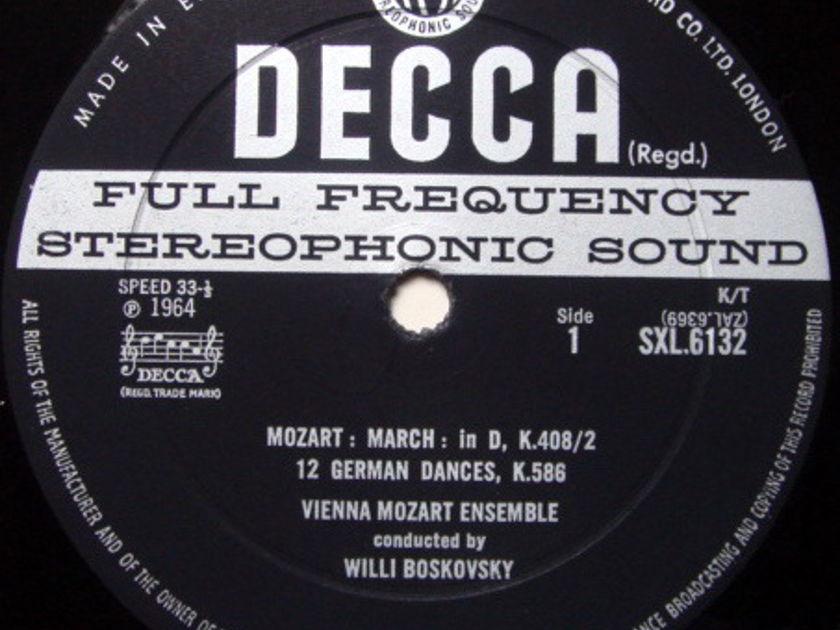 DECCA SXL-WB-ED2 / BOSKOWSKI, - Mozart Complete Dances & Marches, EX!