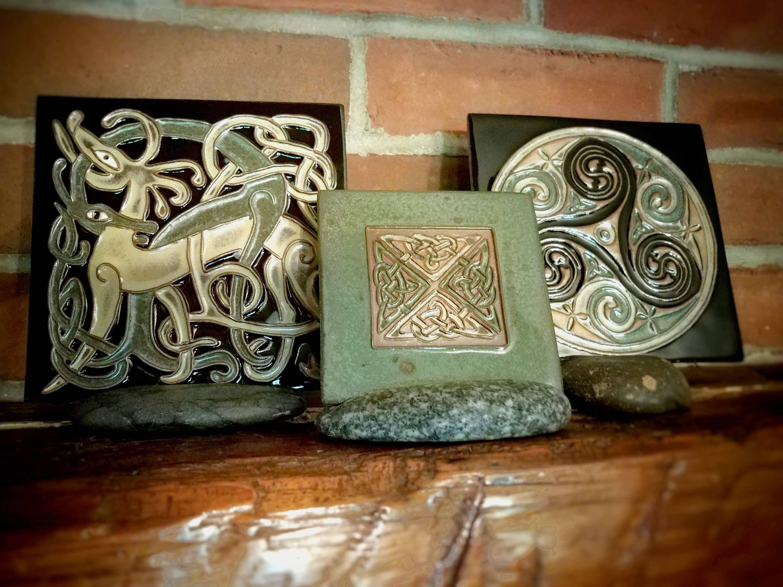 Earthen Craft Pottery Celtic Festival Online Tiles