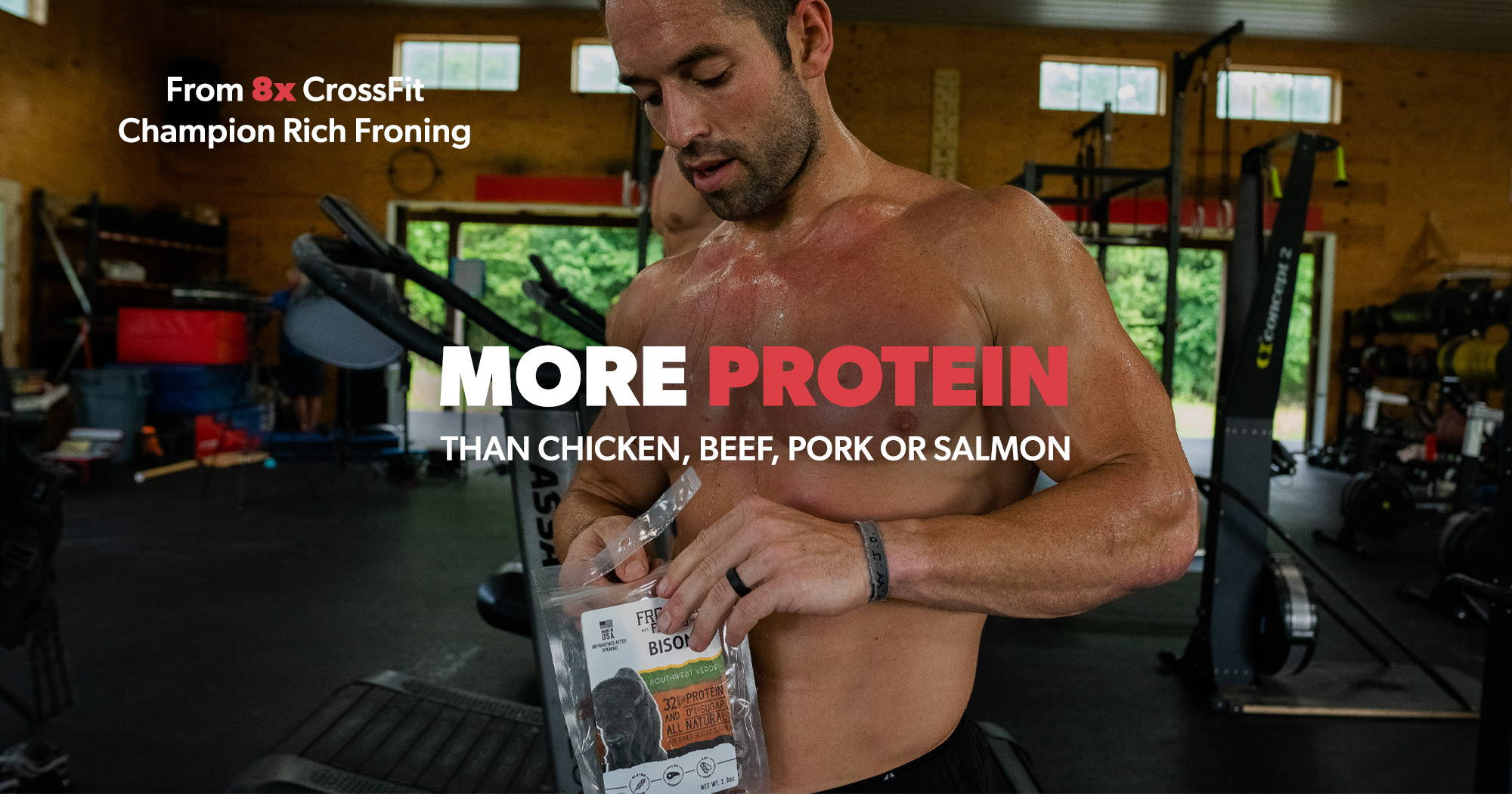 Froning Farms Rich Froning 8X Crossfit Champion