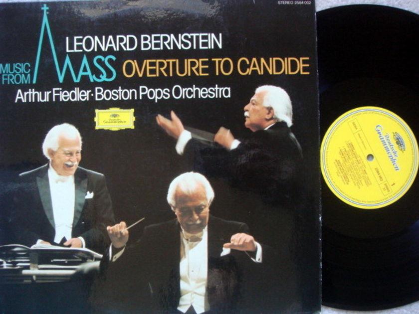DG / Bernstein Mass, - FIEDLER/BPO, MINT!