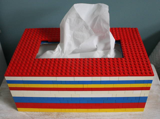 DIY LEGO Tissue Box
