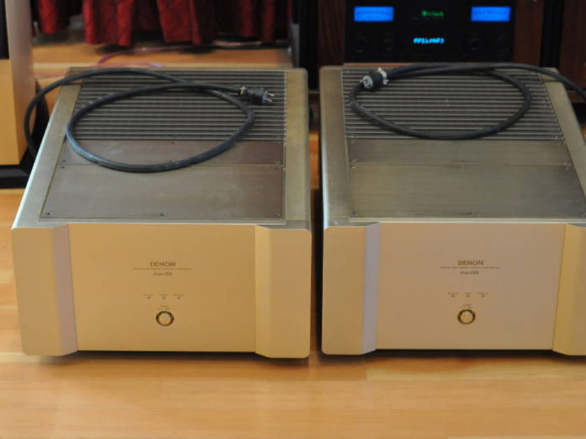 DENON POA-S1 Amplifiers Two Units
