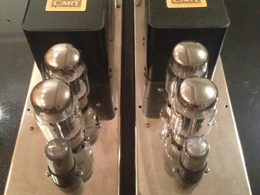 Cary  CAD-50m Mk2 Signature Tube Monoblock Power Amplifiers