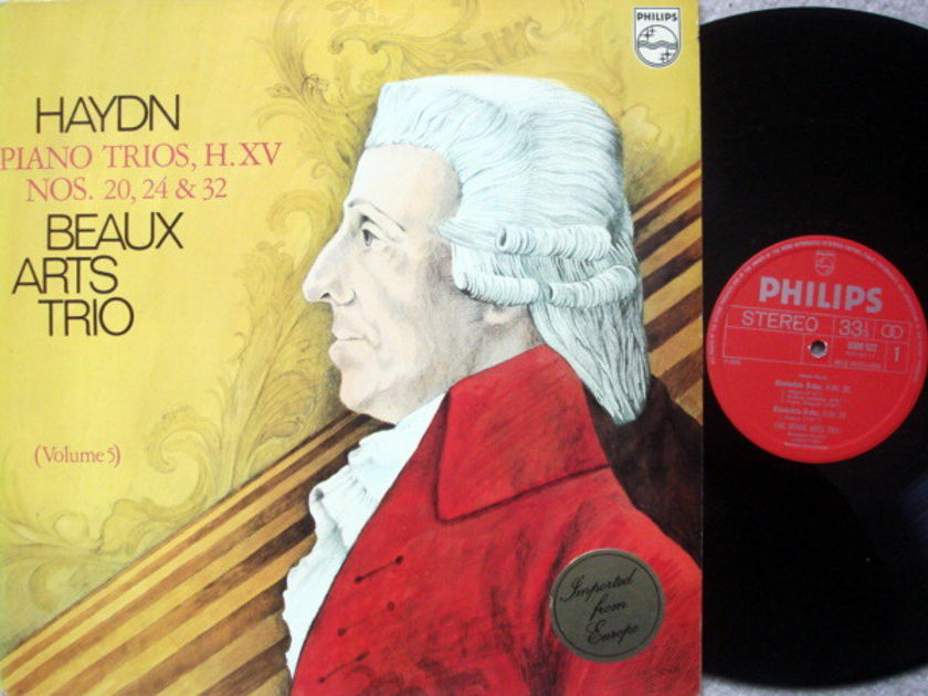 Philips / BEAUX ARTS TRIO, - Haydn Piano Trios No.20, 24 & 32, NM!