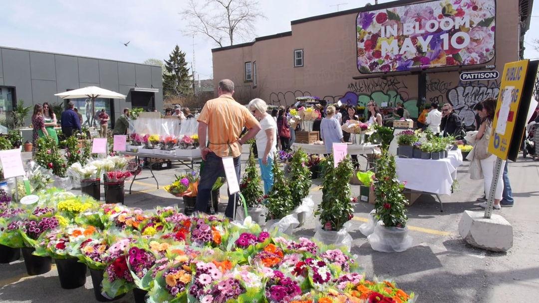 Mother's Day Flower Market