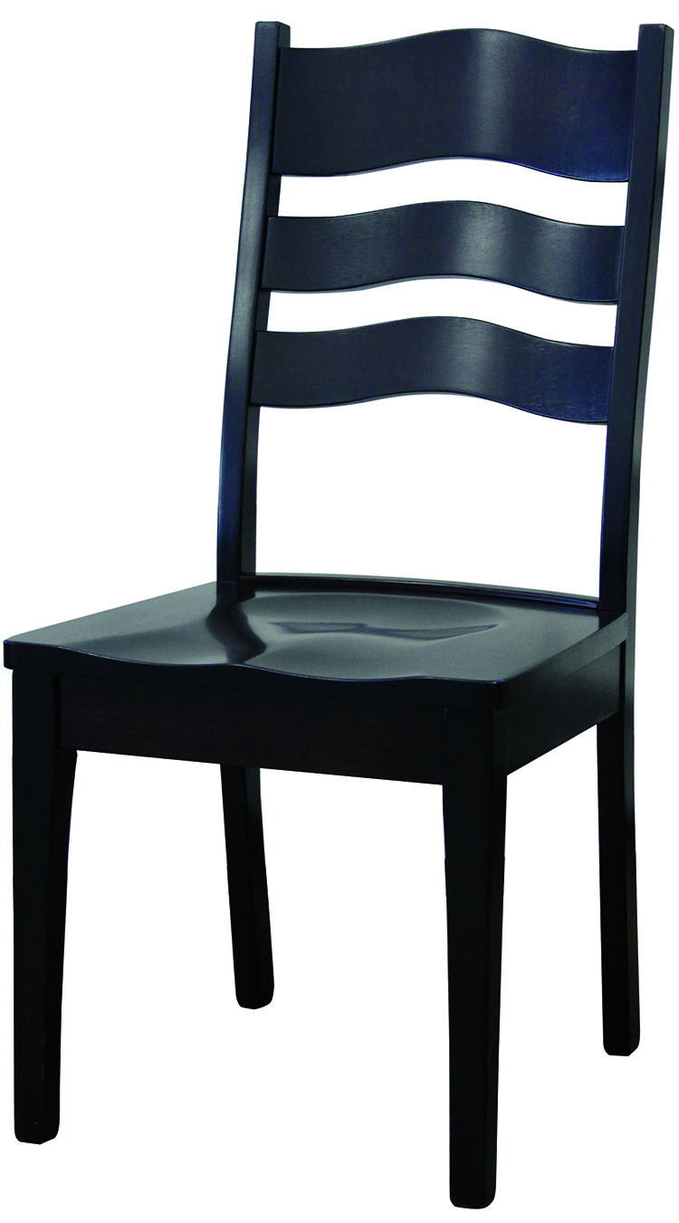LaSalle Solid Wood, Handcrafted Kitchen Chair or DIning Chair from Harvest Home Interiors Amish Furniture
