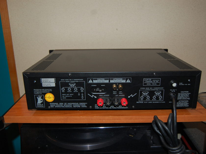 Carver FTM-35X Power Amplifier