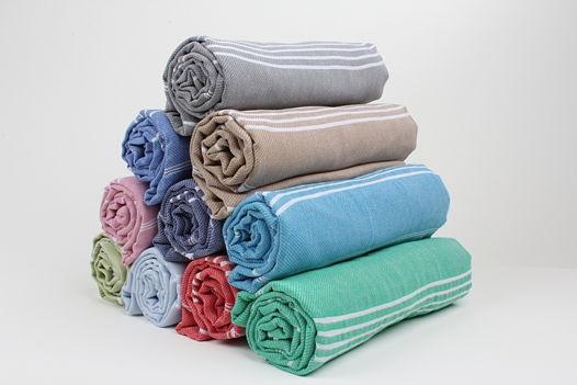 Большие полотенца из хлопка, пештемаль
