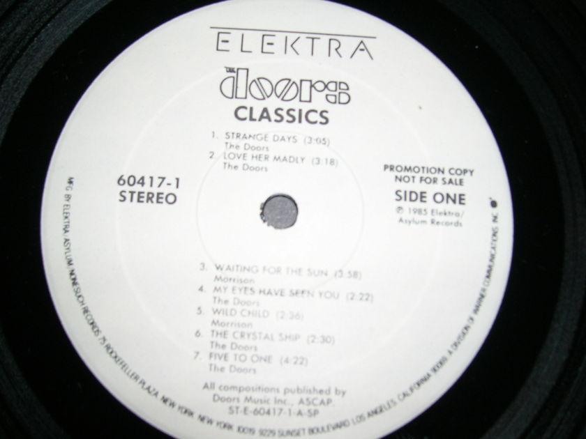 The Doors/ Classics/ Whie - Label Promo LP