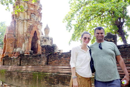 Historic City of Ayutthaya and River Barge Lunch