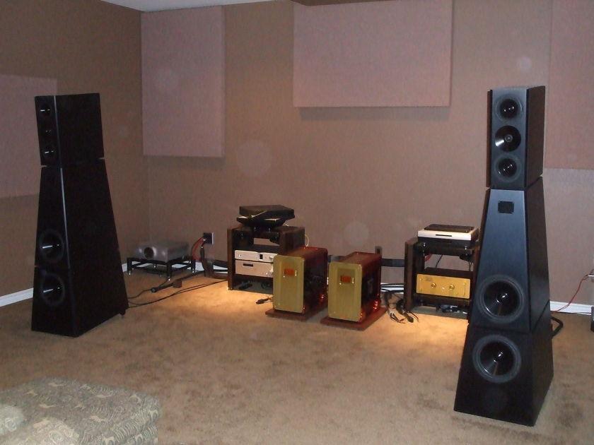 YG Acoustics Anat III Professional Signature Speakers, Black