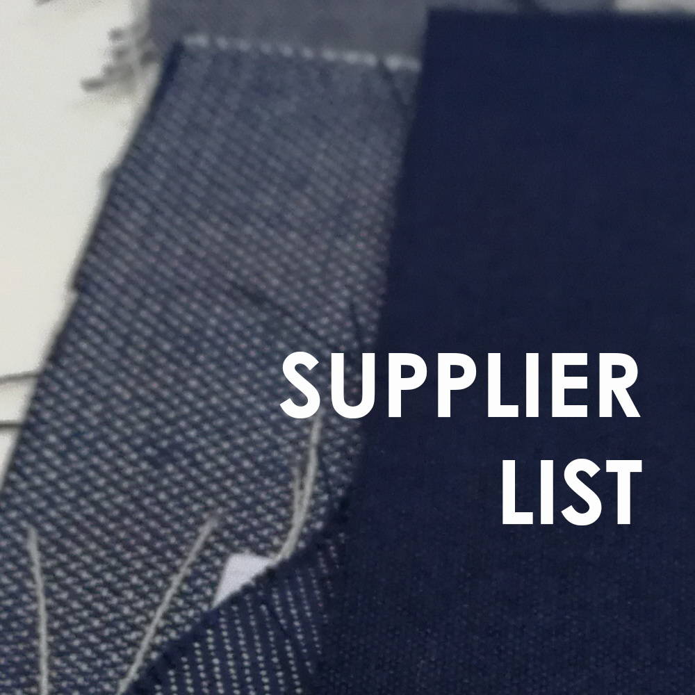 supplier list