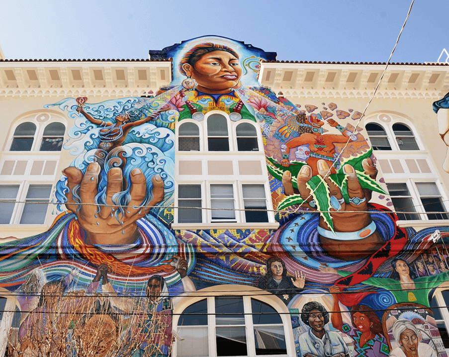 muralshield and worlds best graffiti coating protecting public art