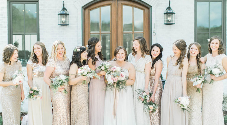 Lovin' Your Bridesmaids and their Dresses