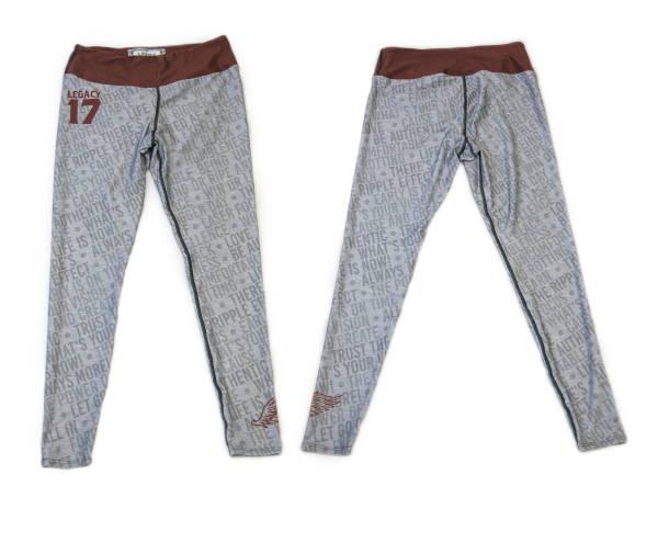 Custom Wholesale Activewear - Dye Sublimation Cut and Sew - Legacy Leggings