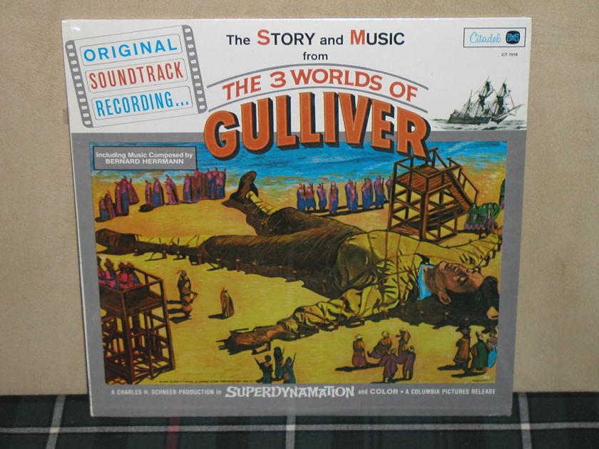 Bernard Herrmann/OST - The 3 Worlds Of Gulliver SEALED Citadel CT 7018