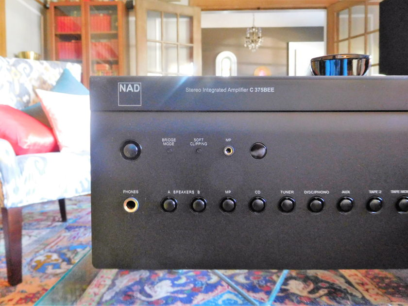 NAD 375BEE Integrated amp with PP 375 plug in MM/MC phono module