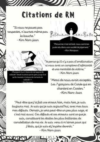 Citations RM