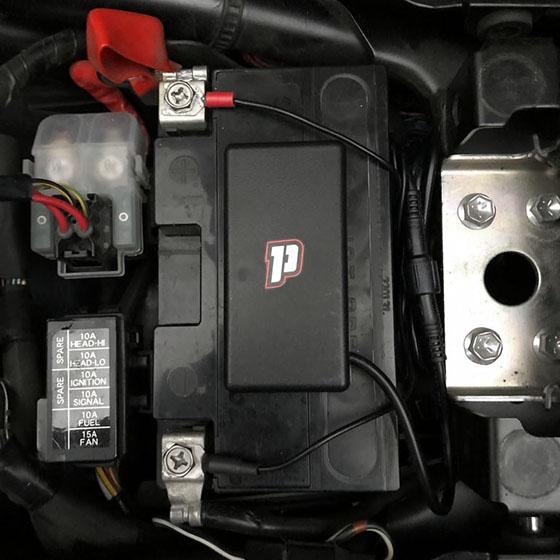 Pegase moto installation 5