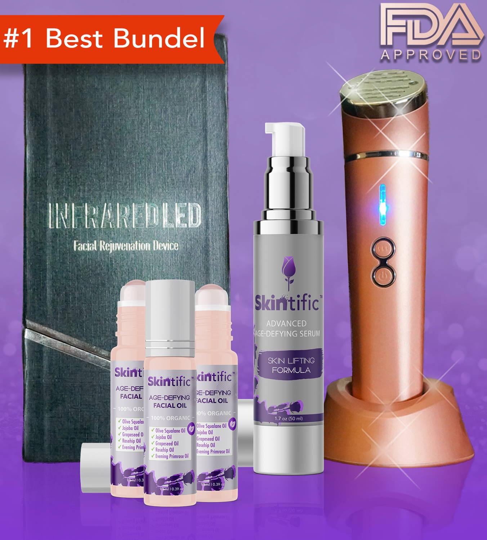 PROMO BUNDEL of Skintific™ Advanced LED Therapy Light